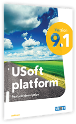 USoft platform features V9-1